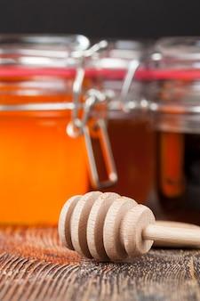 Une cuillère pour le miel