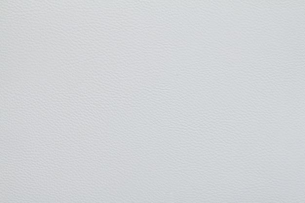 En cuir blanc texture