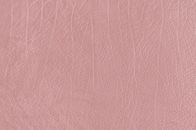 Cuir froissé or rose texturé
