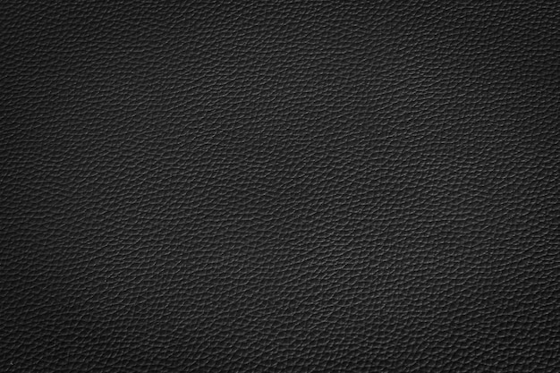 Cuir noir et fond de texture