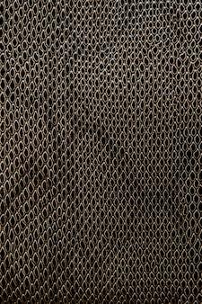 Cuir véritable ou artificiel avec une texture de reptile