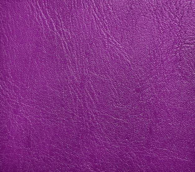 Cuir violet