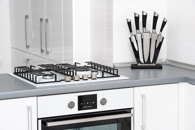 Cuisine blanche moderne