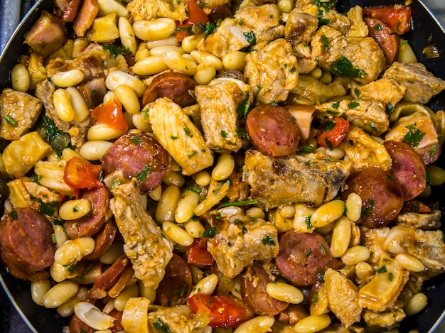 Cuisine brésilienne typique de la viande