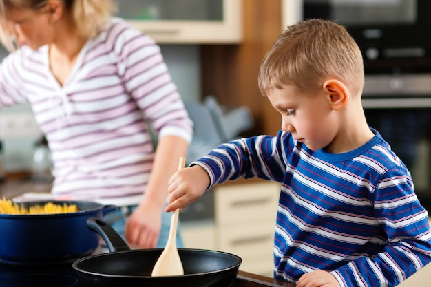 Cuisine familiale en cuisine