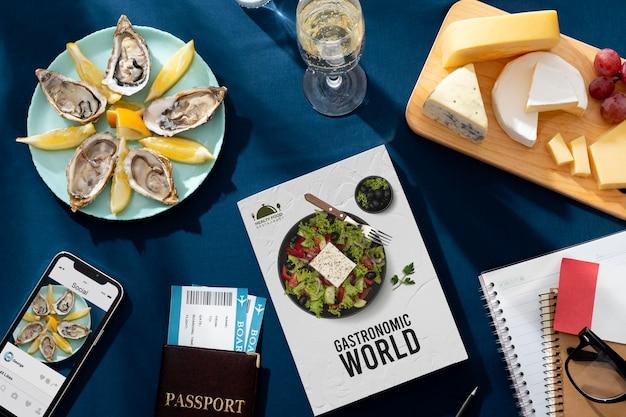 Cuisine française traditionnelle à l'occasion de la journée mondiale du tourisme
