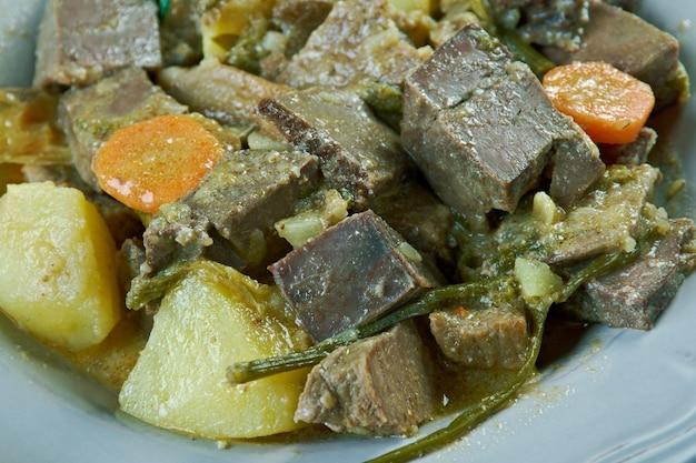 Cuisine hongroise - goulache au cœur de bœuf