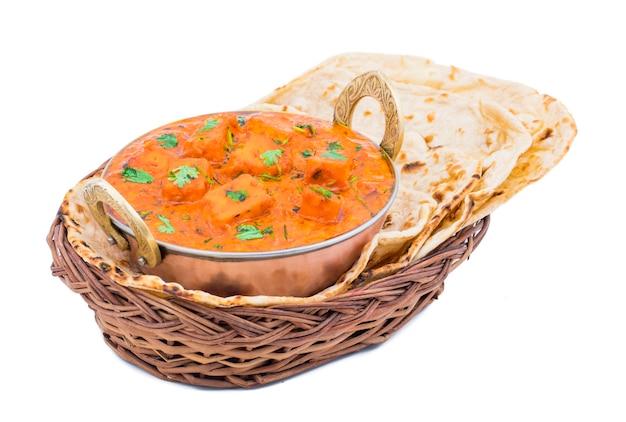 Cuisine indienne délicieuse paneer tikka masala