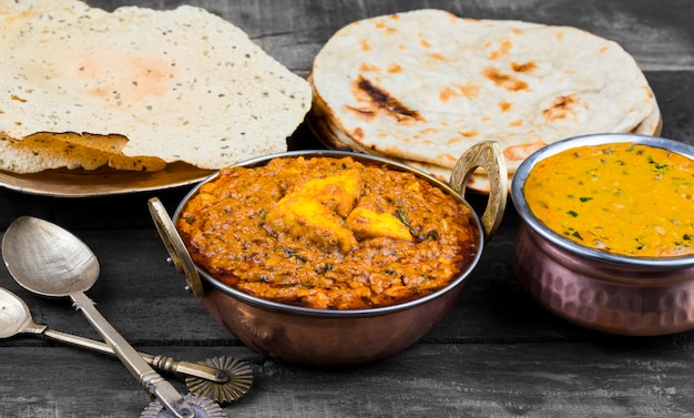 Cuisine indienne kadai paneer