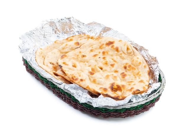Cuisine indienne tandoori roti