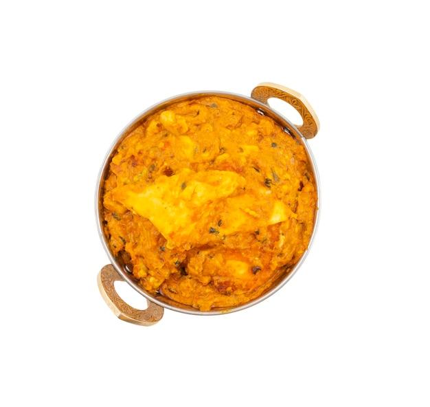Cuisine indienne végétarienne spécial paneer doux et épicé pasanda