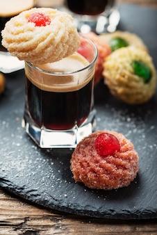 Cuisine italienne traditionnelle aux amandes