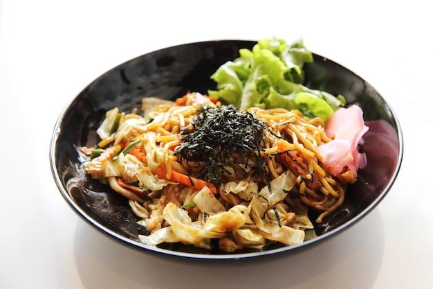 Cuisine japonaise, nouilles frites yakisoba