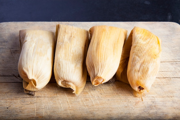 Cuisine mexicaine traditionnelle tamal