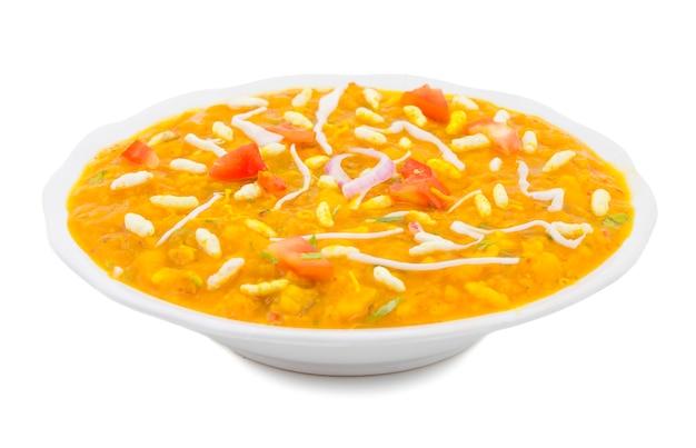 Cuisine de rue indienne ragda pattice