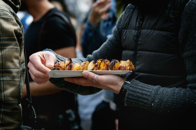 Cuisine de rue à prague