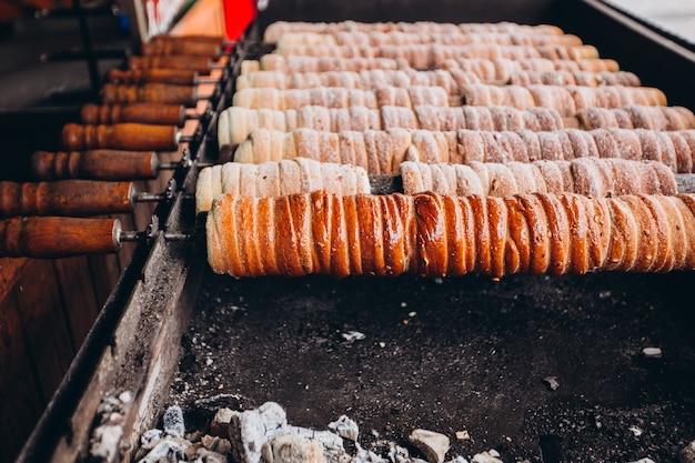 Cuisine de rue traditionnelle à prague