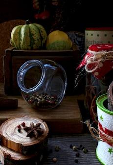 Cuisine rustique aux épices