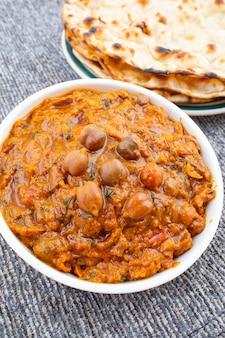 Cuisine saine indienne chana masala