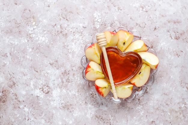 Cuisine traditionnelle du nouvel an juif - rosh hashana.