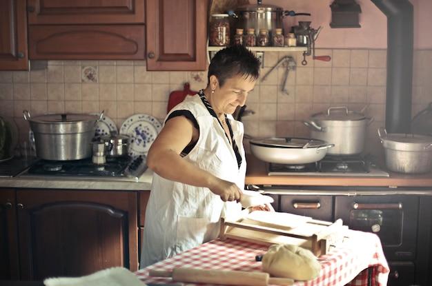 Cuisine traditionnelle à la maison