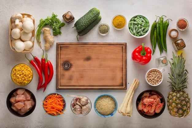 Cuisine traditionnelle orientale et thaïlandaise