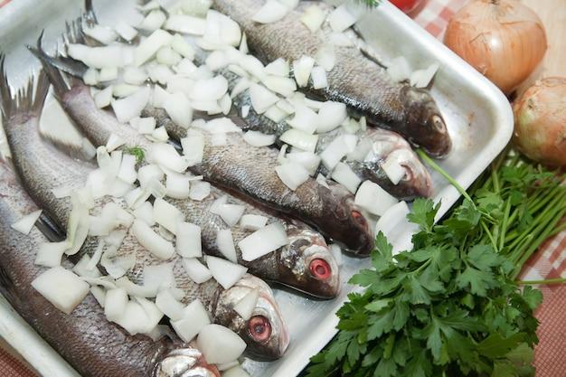 Cuisiner un poisson frais