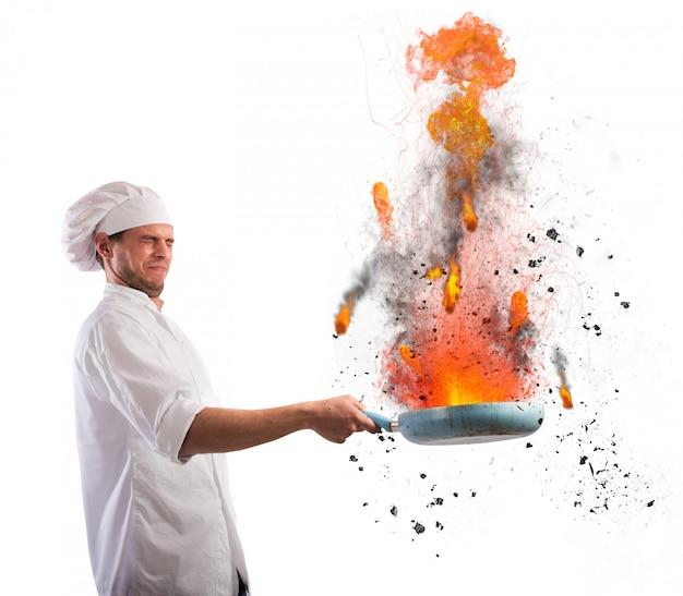 Cuisinier fauteur de troubles