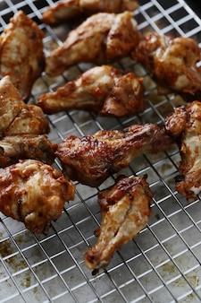 Cuisses de poulet frites