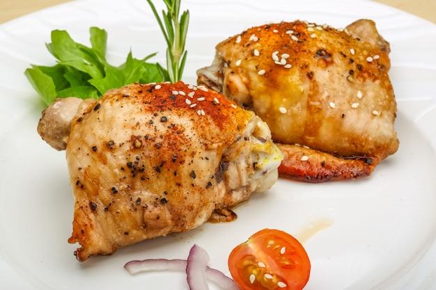 Cuisses de poulet grillées