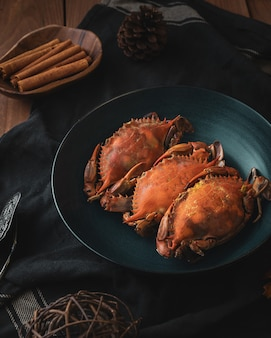 Cuisson des crabes