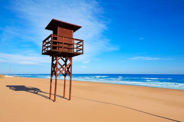 Cullera dosel plage méditerranée valencia