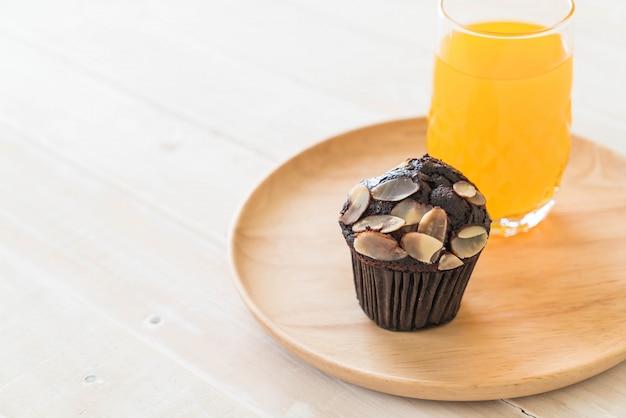 Cup cake au chocolat noir