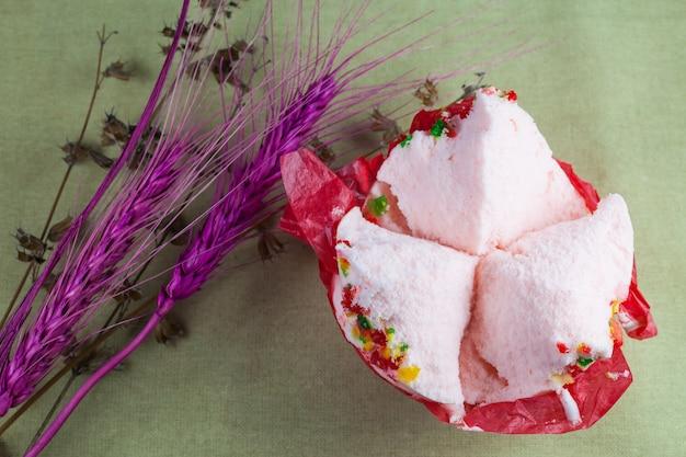 Cup cake ou gâteau de coton (bonbons du nouvel an chinois)