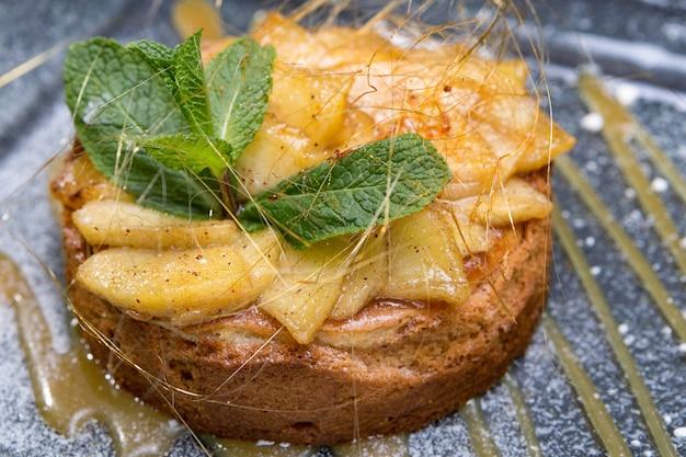 Cupcake aux pommes et menthe