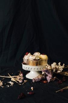 Cupcake nature morte