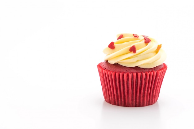 Cupcake rouge velours