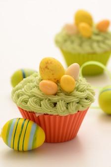 Cupcakes de pâques photo haute résolution