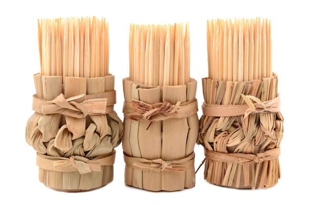 Cure-dent en bambou