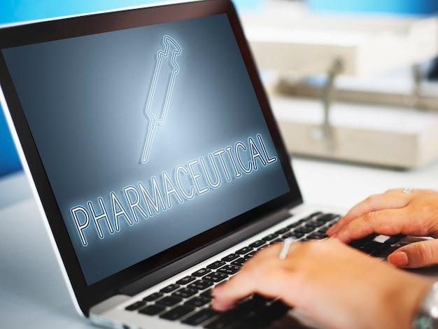 Cure santé hôpital injection médecine concept