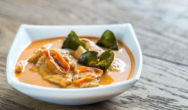Curry panang thaï