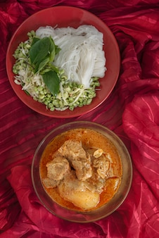 Curry de porc massaman