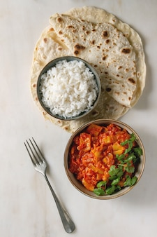 Curry végétalien
