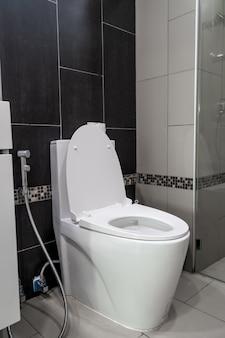 Cuvette de toilette dans la salle de bain
