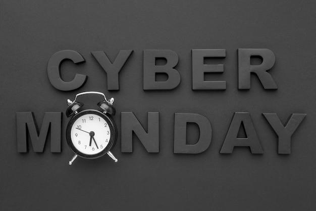 Cyber lundi et horloge