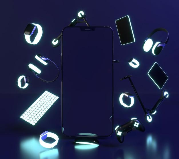 Cyber lundi avec les smartphones
