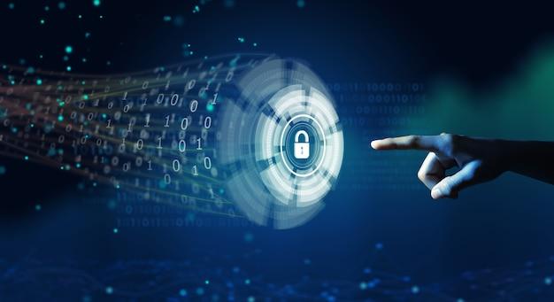 Cybersécurité confidentialité des informations confidentialité et protection des données dans un système de haute technologie