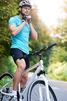 Le cyclisme est ma plus grande passion