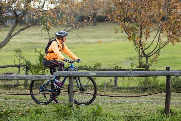 Cycliste, cyclisme, campagne