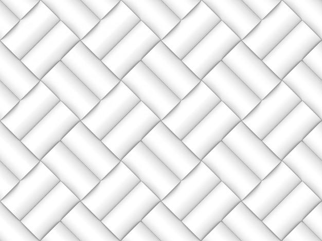 Cylindre mur diagonale sans soudure de fond de modèle.